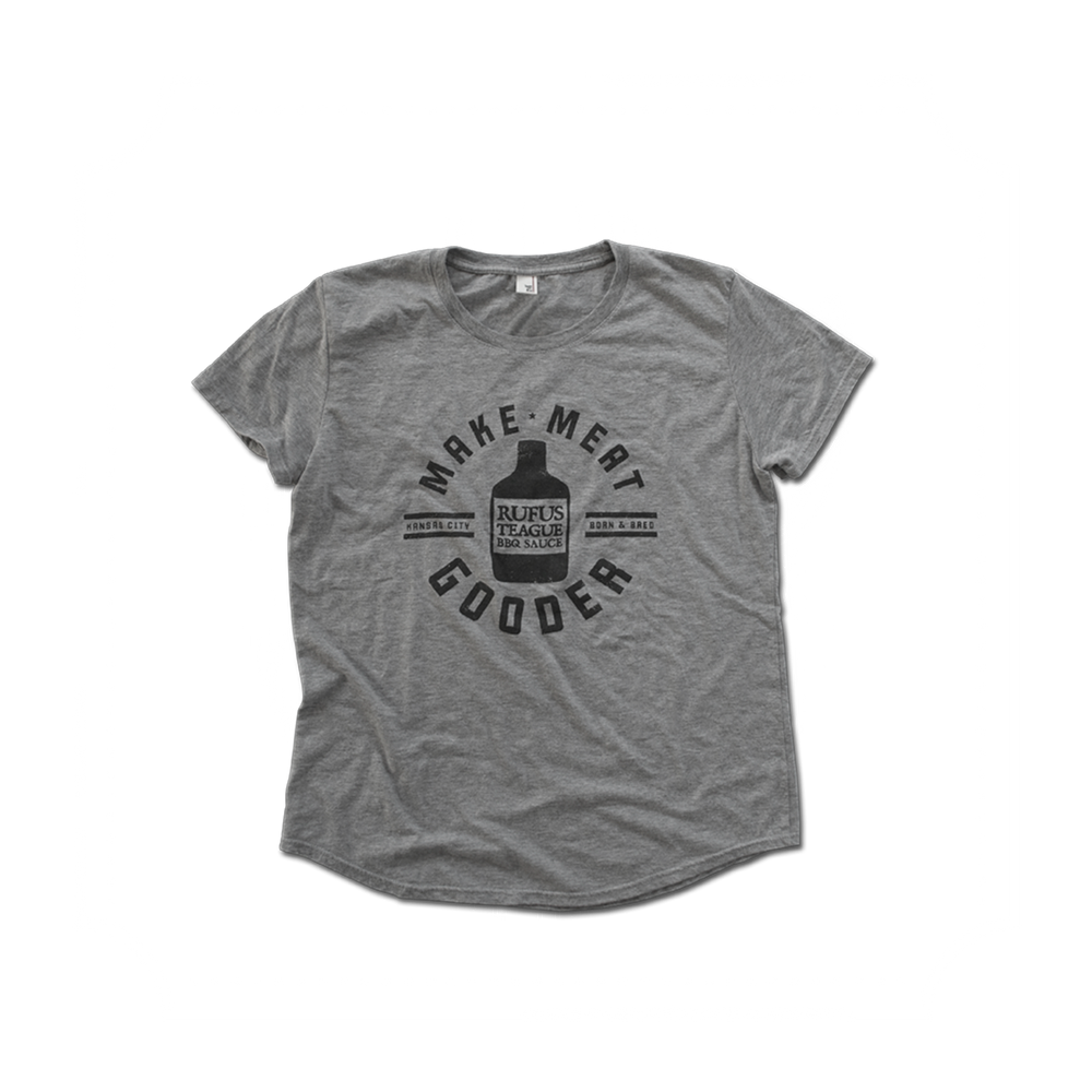 T-SHIRT GREY (LADIES)