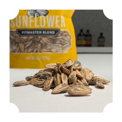 "SUNFLOWER SEEDS - ""PITMASTER BLEND"" POUCH"