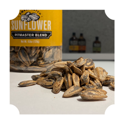 "SUNFLOWER SEEDS - ""PITMASTER BLEND"" BOTTLE"