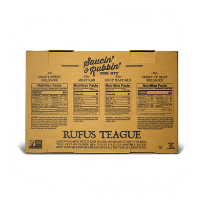 SAUCIN' & RUBBIN' KIT - WHOLESALE - CASE OF 5