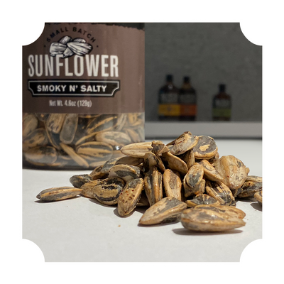 "SUNFLOWER SEEDS - ""SMOKY N' SALTY"" BOTTLE"