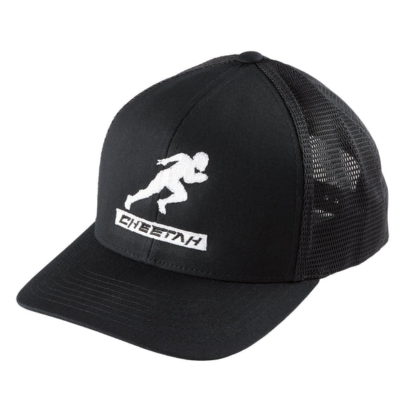 GB Cheetah Black Snap Back Hat - One Size Fits All - $30