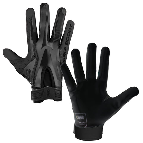 Grip Boost Stealth Solid Color Football Gloves Pro Elite - Adult Sizes - $39.95