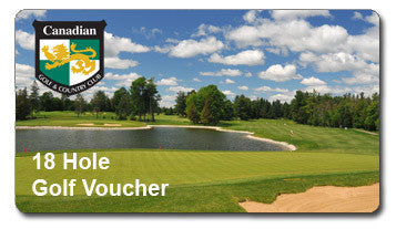 18 Holes of Golf Voucher -  Ottawa Golf Course Specials