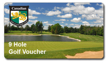 9 Holes of Golf Voucher -  Ottawa Golf Course Specials