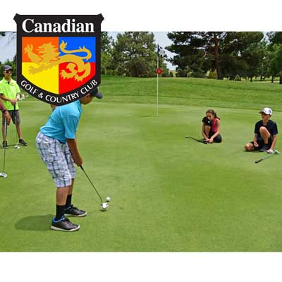 HALF-DAY JUNIOR CAMPS  (9:00am-12:00pm) -  Ottawa Golf Course Specials