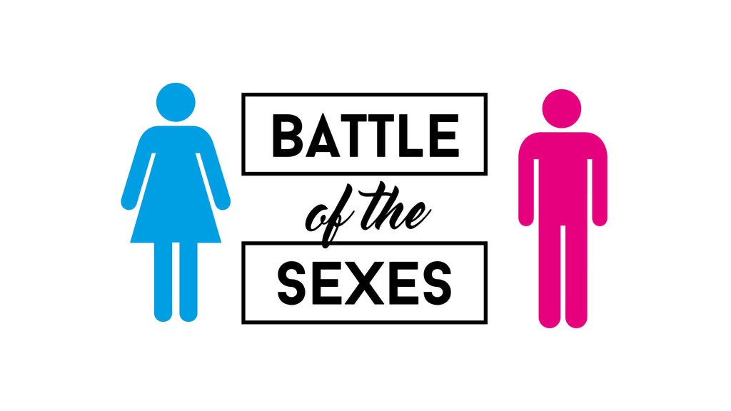 Afbeeldingsresultaat voor battle of the sexes logo