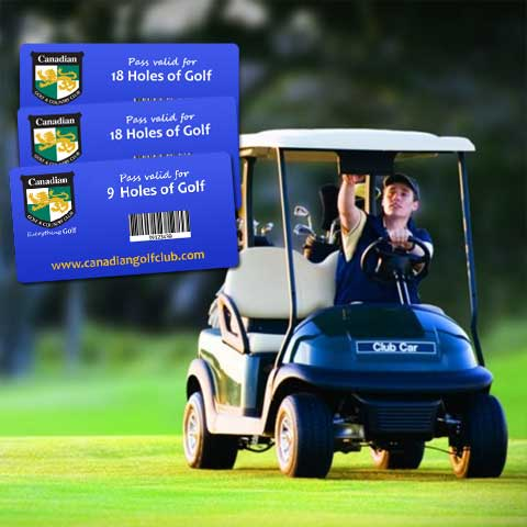 Canadian Multi-Cart Books -  Ottawa Golf Course Specials
