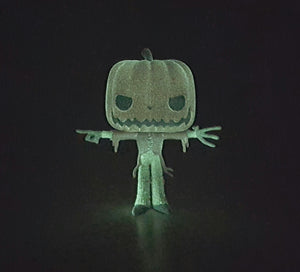 PUMPKIN KING DISNEY TIM BURTON'S NIGHTMARE BEFORE CHRISTMAS GLOW IN THE DARK CUSTOM - MARMARSTOYS