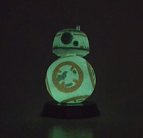 BB-8 DISNEY STAR WARS THE FORCE AWAKENS FUNKO POP 61 GLOW IN THE DARK