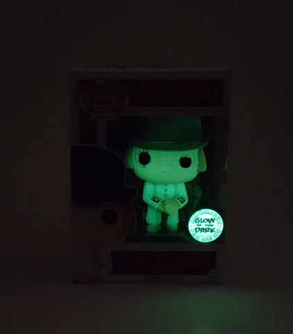 ALEX DELARGE FUNKO A CLOCKWORK ORANGE POP! GLOW IN THE DARK CUSTOM