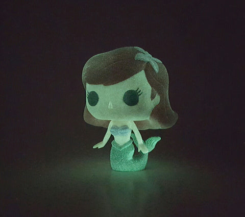 ARIEL DISNEY FUNKO POP 27 GLOW IN THE DARK SERIES 3