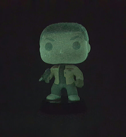 FINN DISNEY STAR WARS THE FORCE AWAKENS FUNKO POP 59 GLOW IN THE DARK