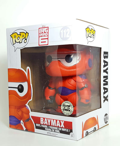BAYMAX BIG HERO 6 DISNEY FUNKO POP CUSTOM GLOW IN THE DARK