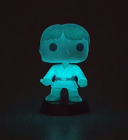 LUKE SKYWALKER TATOOINE STAR WARS FUNKO POP 49 GLOW IN THE DARK