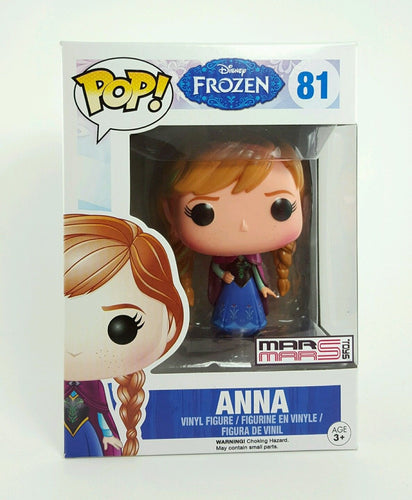 ANNA DISNEY FROZEN MOVIE POP 81 GLOW IN THE DARK - MARMARSTOYS