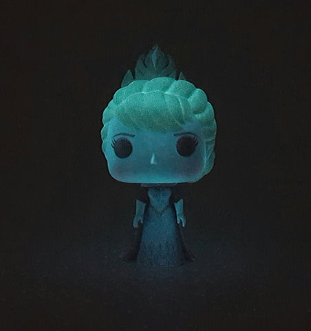 CORONATION ELSA VINYL POP 118 DISNEY FROZEN GLOW IN THE DARK CUSTOM