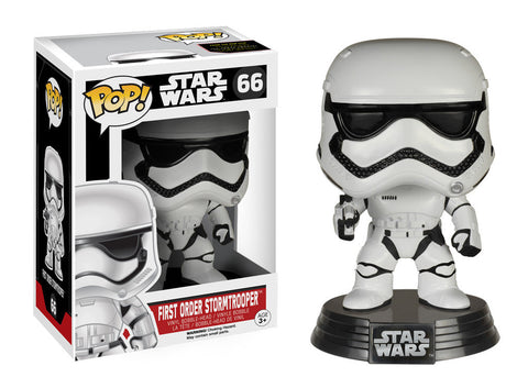 FIRST ORDER STORMTROOPER DISNEY STAR WARS THE FORCE AWAKENS POP 66