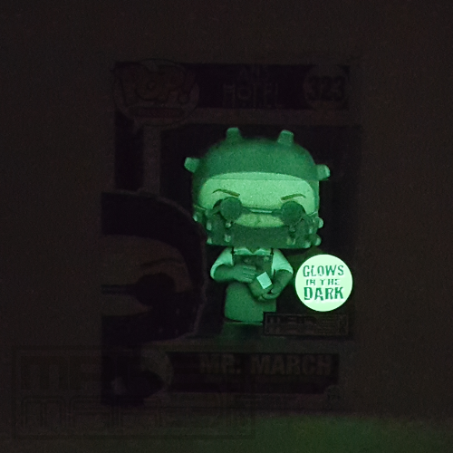 MR MARCH AMERICAN HORROR STORY HOTEL FUNKO POP FIGURE GLOW IN THE DARK - MARMARSTOYS