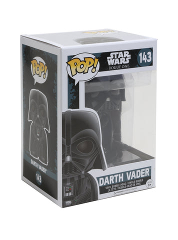 VADER FUNKO STAR WARS: ROGUE ONE POP! DARTH VINYL BOBBLE-HEAD