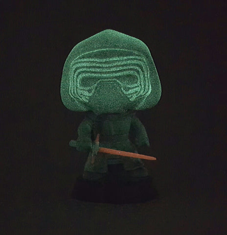 KYLO REN DISNEY STAR WARS THE FORCE AWAKENS POP 60 GLOW IN THE DARK