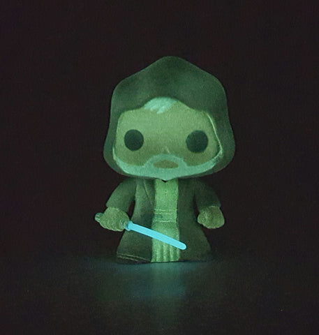 OBI WAN KENOBI DISNEY STAR WARS FUNKO POP 10 GLOW IN THE DARK