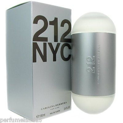 212 NYC by Carolina Herrera 3.3 oz / 3.4 oz ( 100 ml ) EDT SPRAY Women NIB SEAL