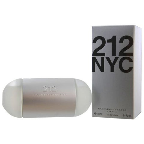 212 NYC Carolina Herrera 3.4 oz edt Spray  Women,