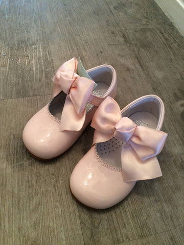 Bambi Julieta Pink Bow Mary Janes