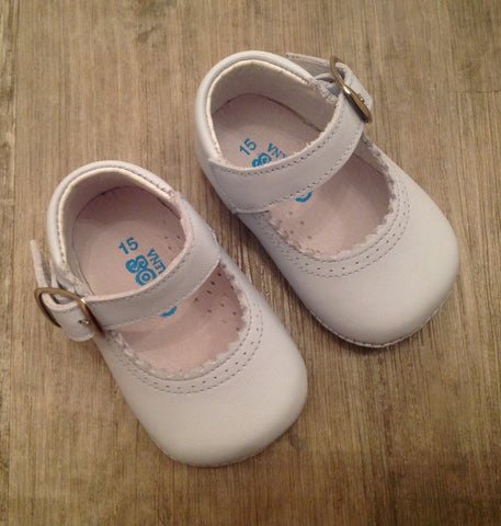 Citos Baby Blue Pram Shoes