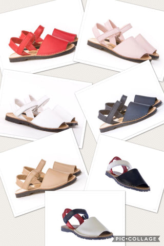 Children's Leather Sandals