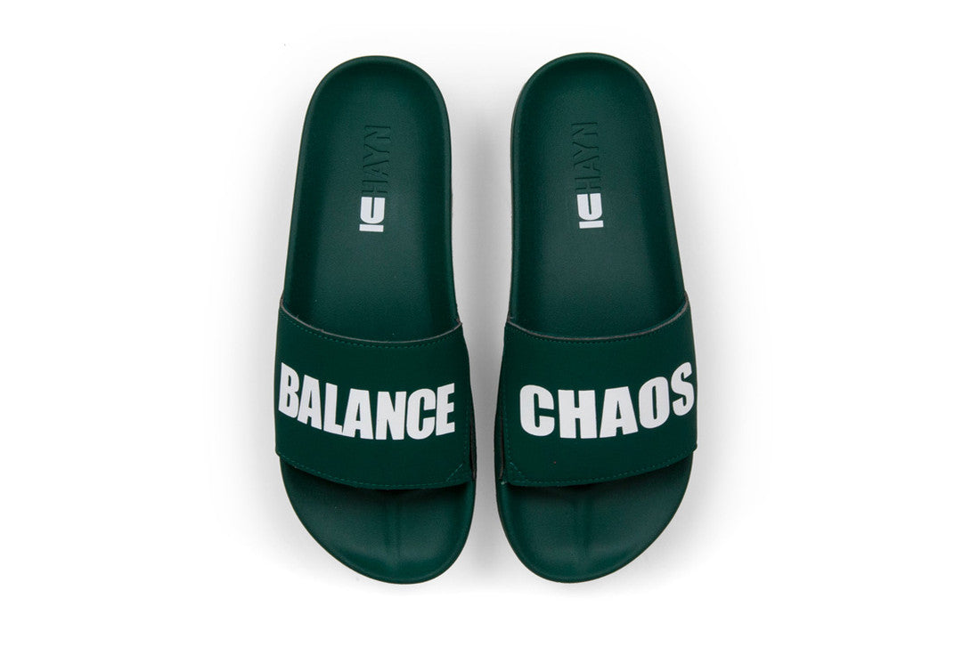 chaos balance slides undercover x hayn forest green