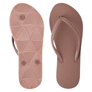Women's Tonal Slippers (Guava) Dark Pink