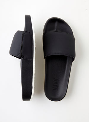 Hayn Core Slides (Lava Rock) Black