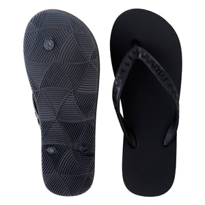 Men's Tonal Slippers (Lava Rock) Black