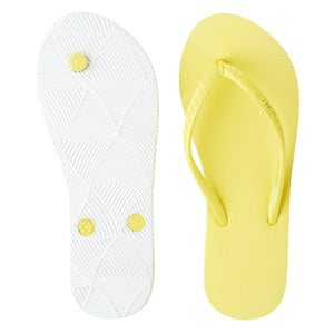 Women's Core Collection Slippers (Plumeria) Yellow