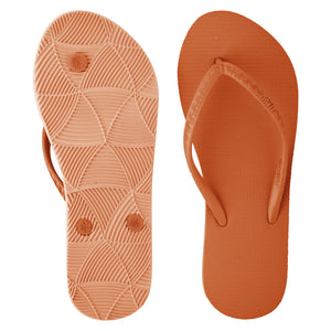 Women's Tonal Slippers (Kaihalulu) Burnt Orange
