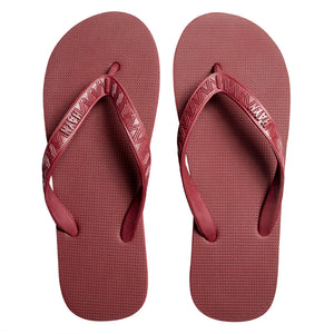 Men's Core Collection Slippers (Li Hing Mui) Burgundy