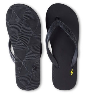 Men's Lightning Collection - Pila Nui (Lava Rock) Black