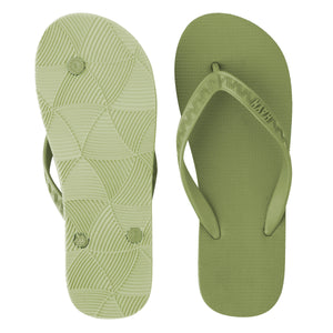 Men's Tonal Slippers (Matcha) Light Green