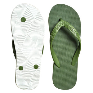 Men's Core Collection Slippers (Mauka) Green