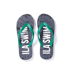 Men's Sig on Smith x HAYN x ILA Swim Slippers - Black/Green