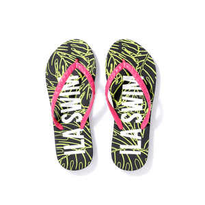 Women's Sig on Smith x HAYN x ILA Swim Slippers - Neon Pink/Black/Neon Green/White