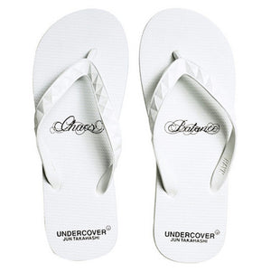 "Men's Undercover ""Chaos & Balance"" Slippers (White)"