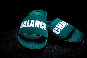 CHAOS/BALANCE Slides (UNDERCOVER X HAYN) Forest Green