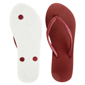 Women's Core Collection Slippers (Li Hing Mui) Burgundy