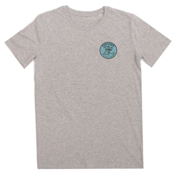 Anchor T-shirt Light Heather Grey