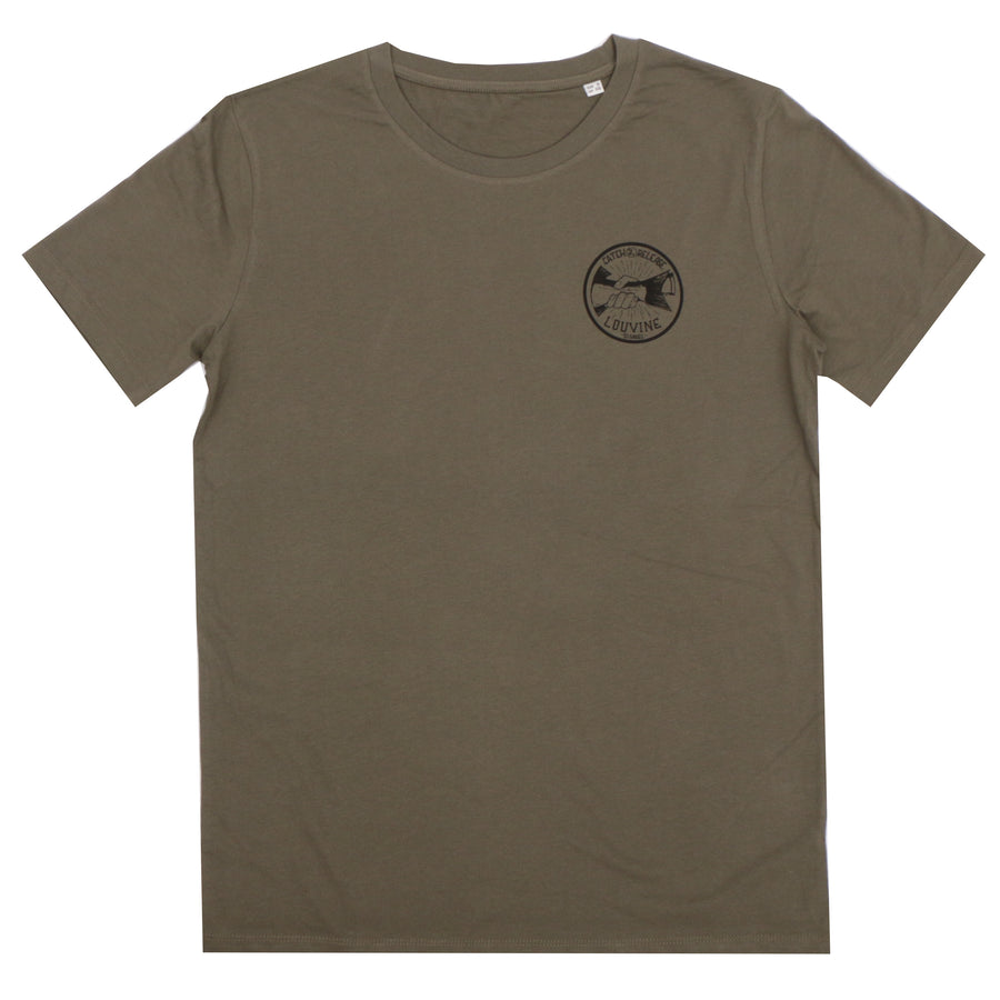 Catch and Release T-shirt Khaki