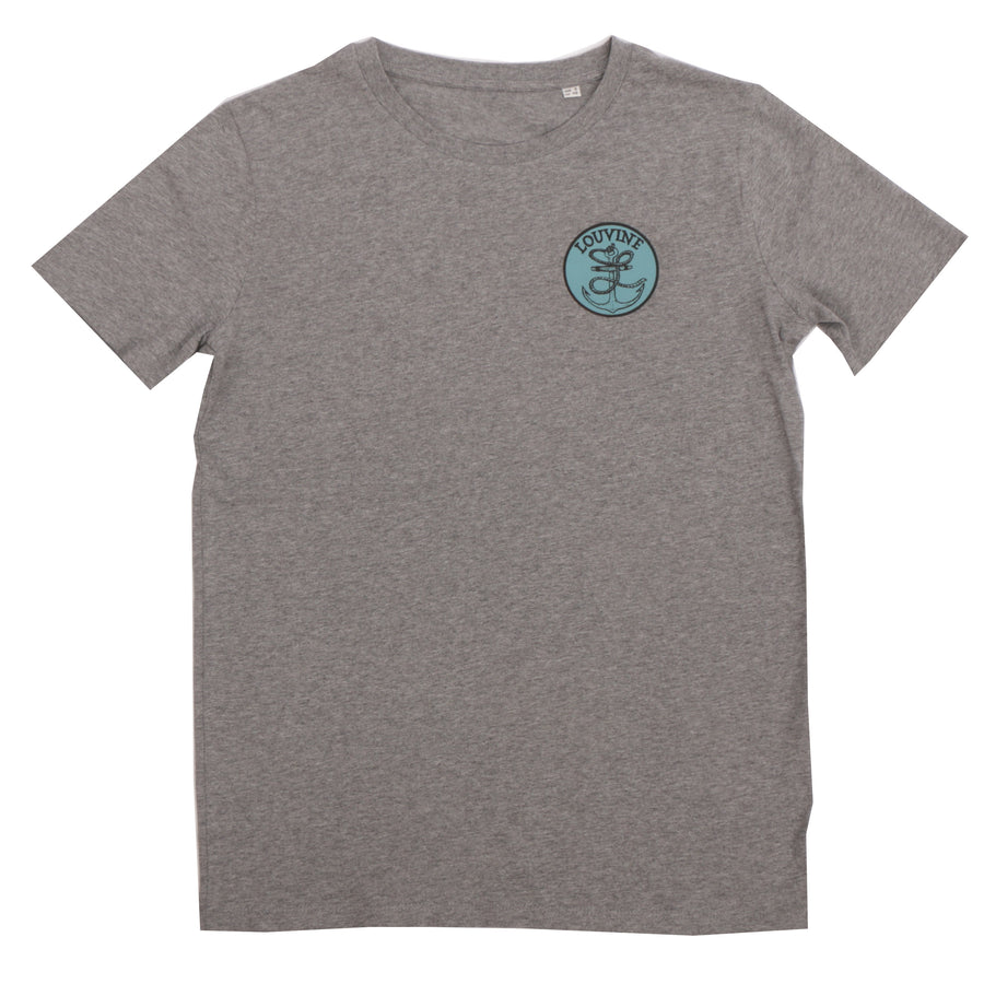 Anchor T-Shirt Dark Heather Grey
