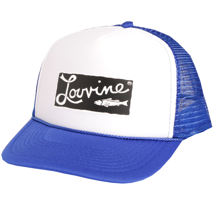 Louvine 'OG' trucker SKY BLUE/WHITE